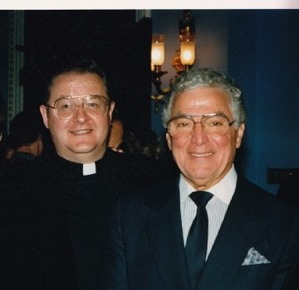 FR. SEAN Mc MANUS AND CONGRESSMAN  MARIO BAGGI